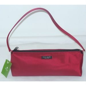 Kate Spade ERIN Red Nylon Handbag
